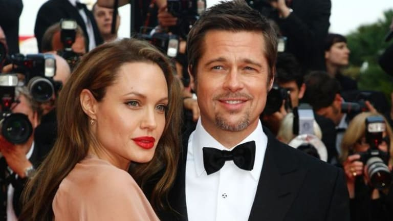 Jolie was apparently not given a plus one to the event.