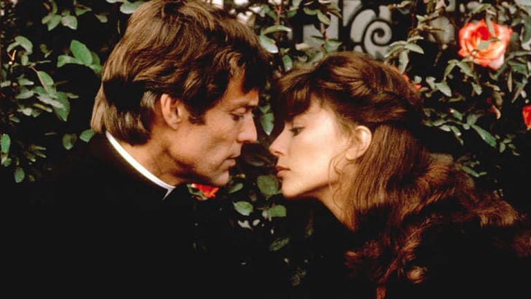 Richard Chamberlain and Rachel Ward in <i>The Thorn Birds</i>.