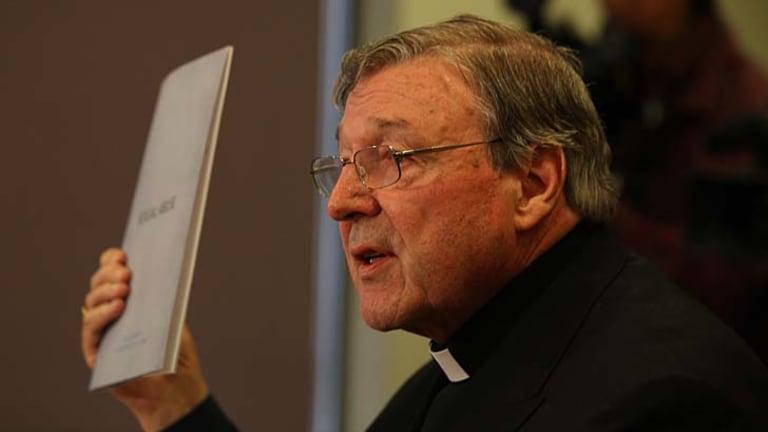 Media target ... the Cardinal Archbishop of Sydney, George Pell.