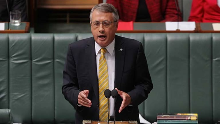 """""""In balancing the budget, the Gillard government has made sensible spending cuts while winding back inefficient and outdated tax concessions"""" ... Treasurer Wayne Swan."""