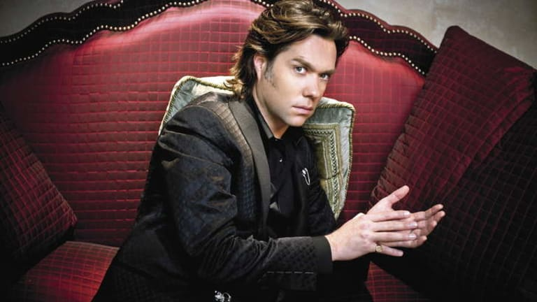 "Rufus Wainwright's favourite songs touch on his life as a ""sad, longing, romantic lost boy with the gritty, city slicker, on the prowl boy""."