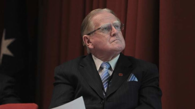 Seeking re-election: Christian Democrats leader Fred Nile.