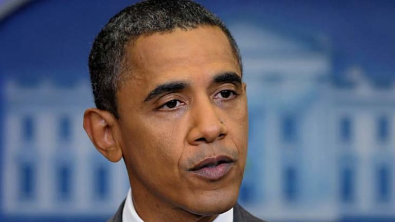 Done deal ... US President Barack Obama reached agreement with the Republicans.