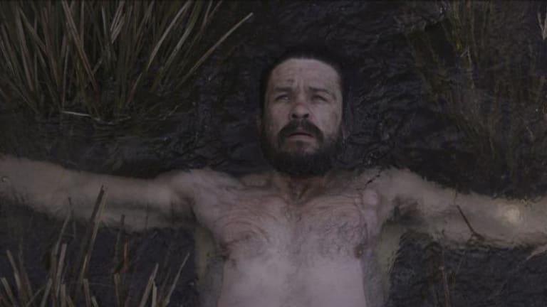 Matt Nable in the film Fell.