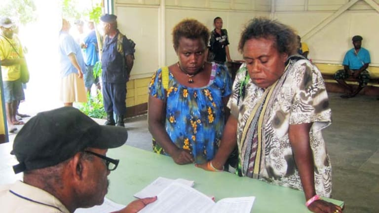 Papua New Guinea has lurched into the second week of voting in its troubled national elections.