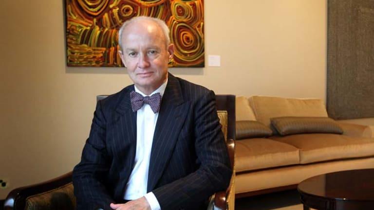 Australia Council CEO James Strong: public face of the private-public  project.