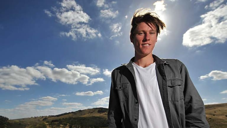 Wildcard: Geelong recruit Mark Blicavs has not played football for six years.