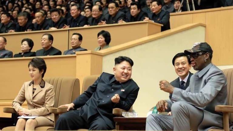 Sideshows: Kim Jong-un with Dennis Rodman.