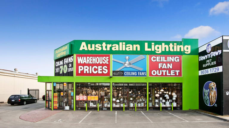This Bayswater North showroom has been snapped up by Beacon Lighting.