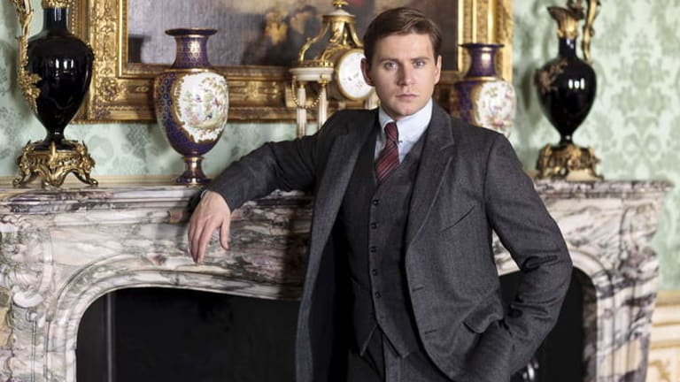 Braving the myths on his Wikipedia page ... Allen Leech denies being bullied.