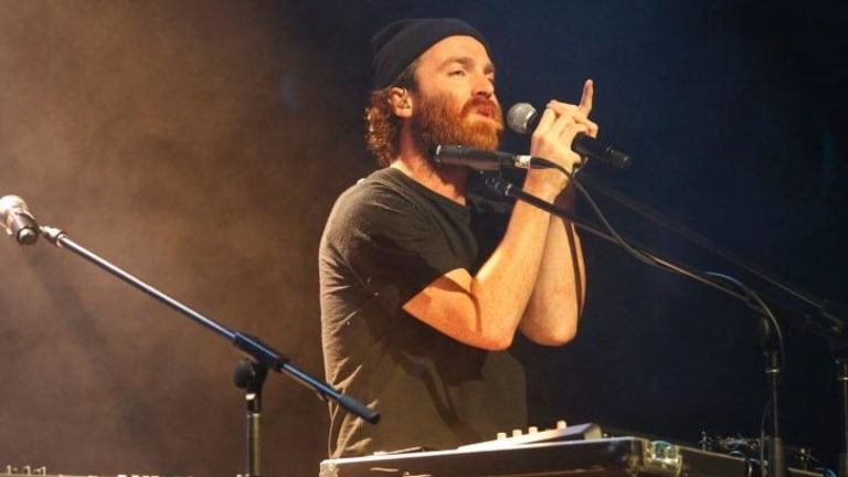 Chet Faker performing live in concert at Civic Theatre, Newcastle, last year.