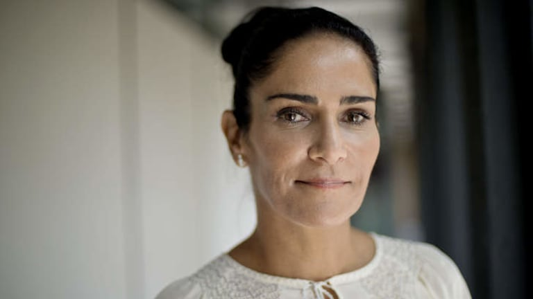 """""""I've cried a lot, but we have to do this work"""": Lydia Cacho."""