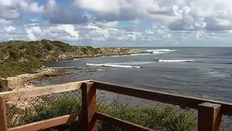 Cowaramup Bay near Gracetown - the scene of the fatal attack.