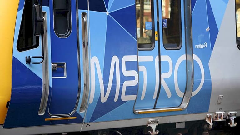 Metro says a person is struck by a train more than once a week on average in Melbourne.