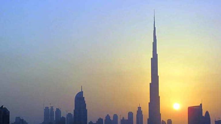 Dubai's Burj Khalifa is the world's tallest building, but is set to be doubled in height by the planned Kingdom Tower in Saudi Arabia.