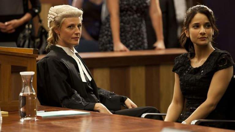 Marta Dusseldorp as Janet King in <i>Crownies</i>.