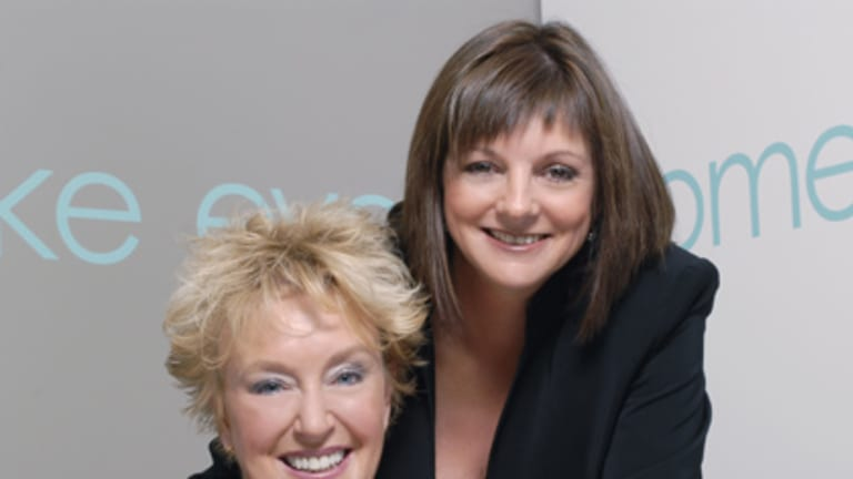Business partners Shannon Trueman (left) and Suzanne Pearson shared No. 22 place with a turnover of $6.6 million.