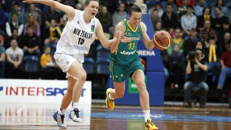 The Canberra Capitals are trying to lure Kristen Veal back after her former club, Logan Thunder, folded.