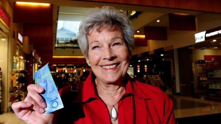 Marilyn Ferguson of Dickson donates to charities on a regular basis.
