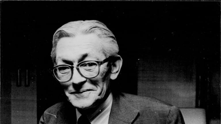 James Jesus Angleton in later life, May 1980.