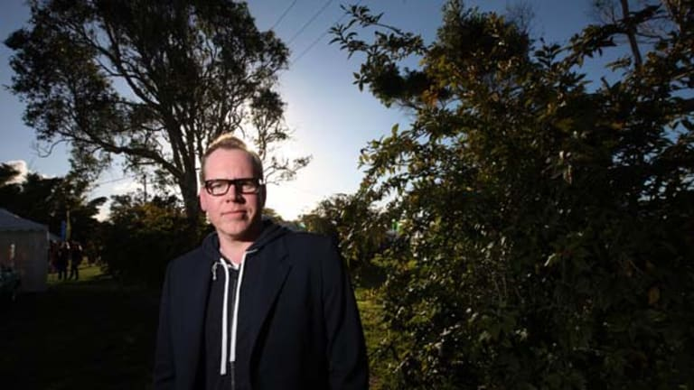 Emerged from dark years ... Bret Easton Ellis.