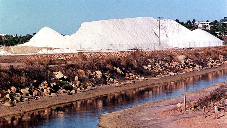NSW's coal seam gas industry is struggling to deal with the large quantities of salt being produced.