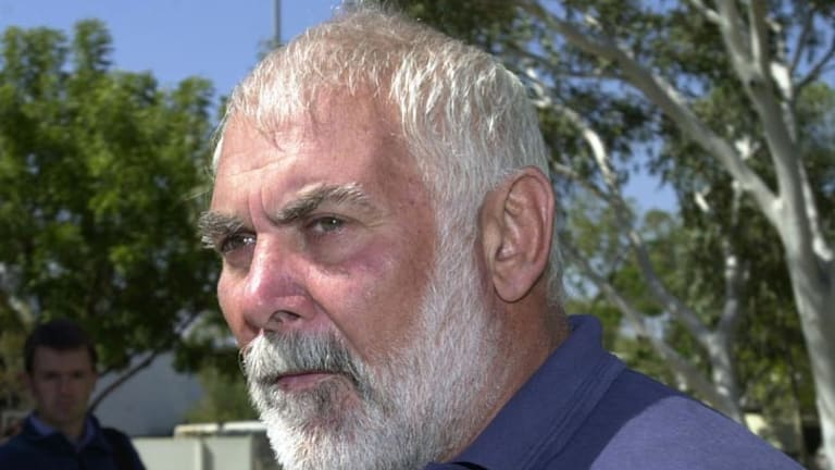 A rare appearance ... Keith Murdoch in 2001.