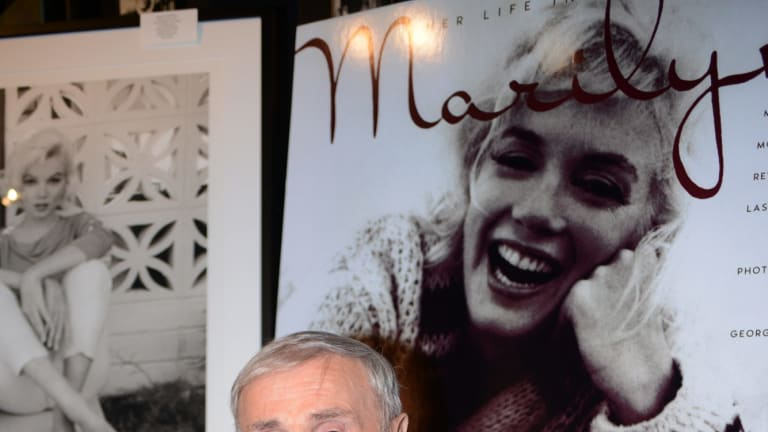 """Photographer George Barris attends a book signing for his work """"Marilyn: Her Life In Her Own Words"""" in 2012."""