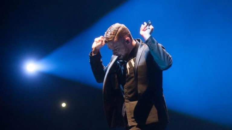 Justin Timberlake partied in Perth last night.