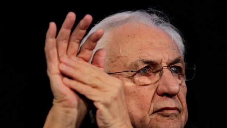 """Creative genius"" ... Frank Gehry."