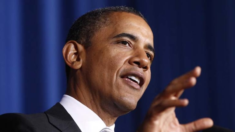 Going public ... US President Barack Obama has come out in support for gay marriage.