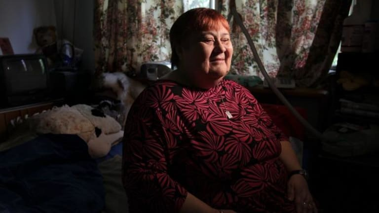Worried: Dana Eirosius is concerned about the privatisation of the Home Care Service.