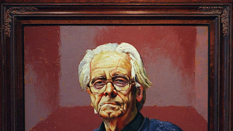 <b>Bernard Smith</b> by Albert Tucker, 1985.
