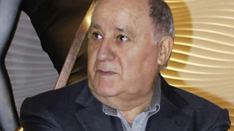 Amancio Ortega ... has a fortune of $US57 billion.
