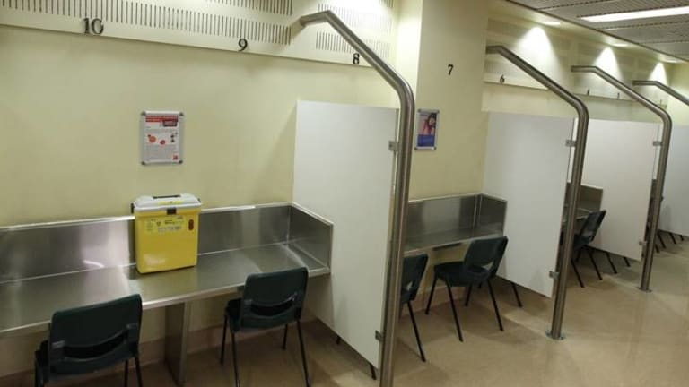 The injecting centre in Sydney's Kings Cross has operated for more than 10 years.
