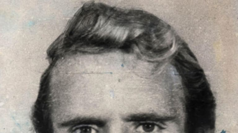 Notorious criminal ... Brisbane's Russell 'Mad Dog' Cox' has been questioned over the cold case underworld death of Brian Kane.