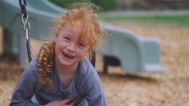 Liv Hewson as a little cutie in Canberra. She grew up in Hughes.