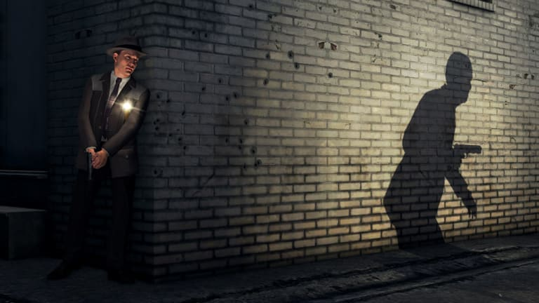 The big somewhere ... a scene from L.A. Noire, developed in Sydney and hailed by critics in the US as ''changing the face of gaming''.