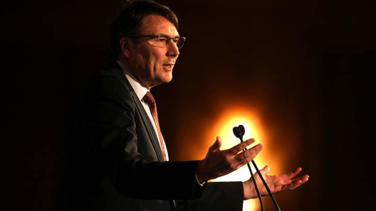 """""""We wouldn't expect the same sort of level [of subscriber growth] """": Telstra chief executive officer David Thodey."""