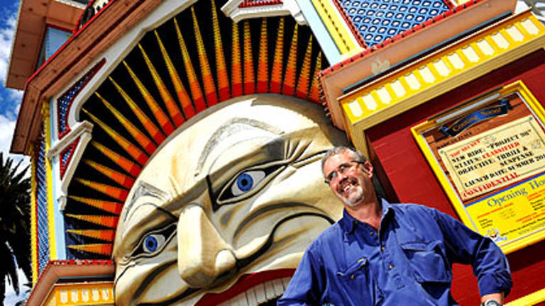 Luna Park maintenance manager Mark Harrison has worked at Luna Park for two decades.