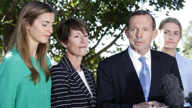 Prime Minister Tony Abbott's daughters were seen regularly during the last federal election campaign.