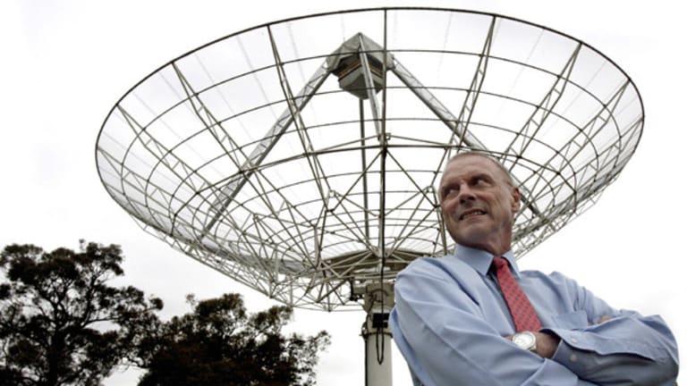 CSIRO researcher John O'Sullivan, the man behind the Wi-Fi patent.