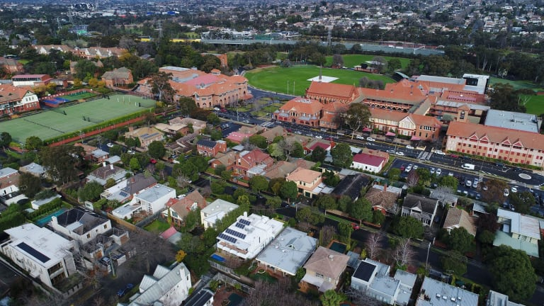 Scotch College's landholdings have expanded enormously over the past 20 years.