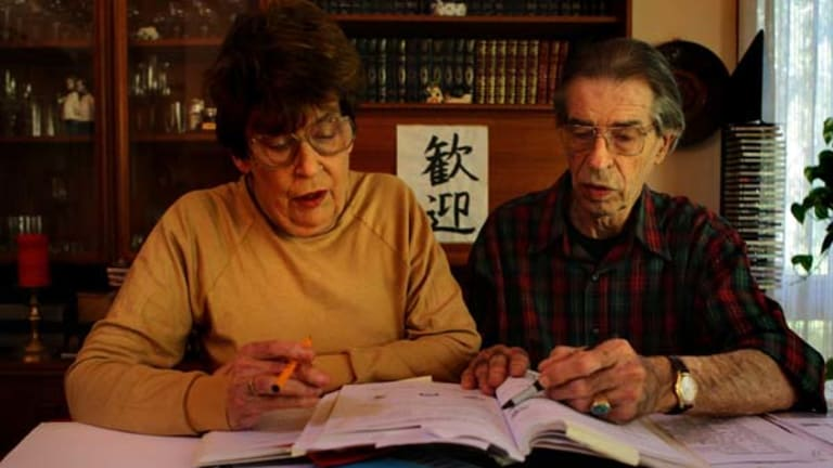 Studying Japanese ... Rosemary and John Brown.