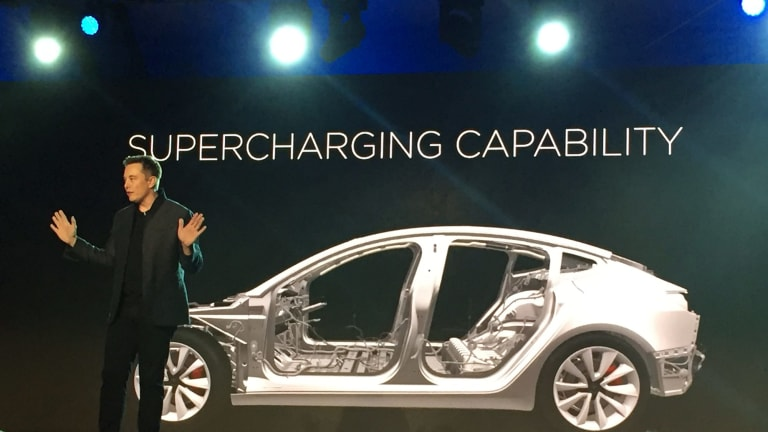 For the Model 3, Tesla and Panasonic are jointly developing a new, slightly larger cylindrical battery cell than those used in the S and X.