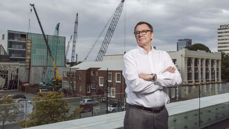 The crane truth … Don Miskell, the Canterbury Earthquake Recovery Authority's head of design.