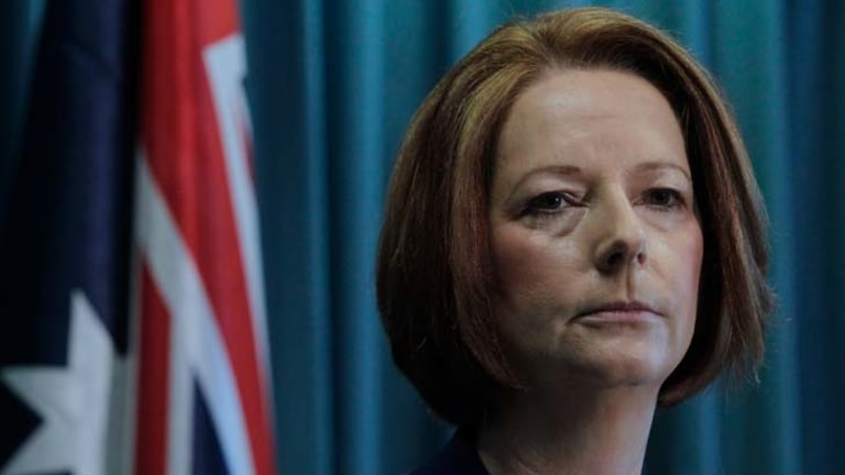 Prime Minister Julia Gillard said it was a 'bitter day' for Australia.