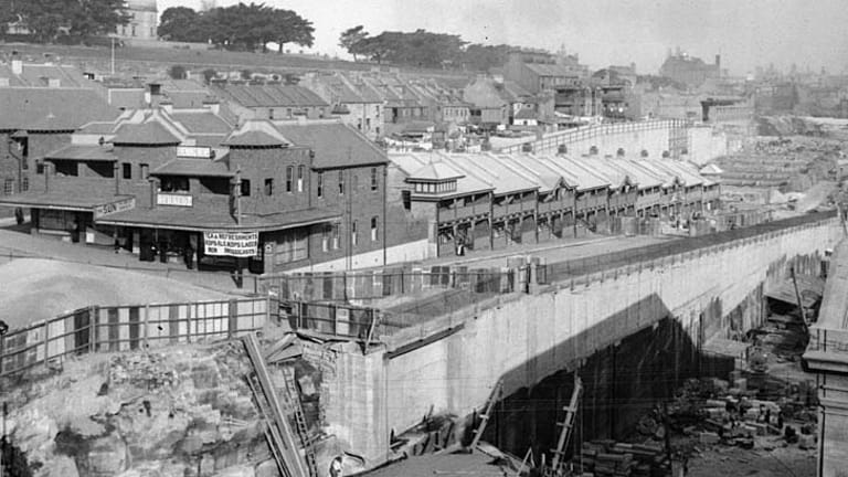 Millers Point in a bygone age.