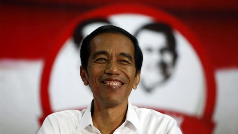 Indonesias new president joko widodo promises hope and change joko jokowi widodo speaks in an unpolished baritone and has a reheart Images