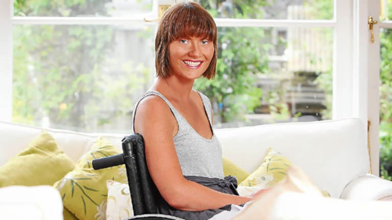 Carrie Beetham has the rare genetic disease Friedrich Ataxia, which causes nerve degeneration.
